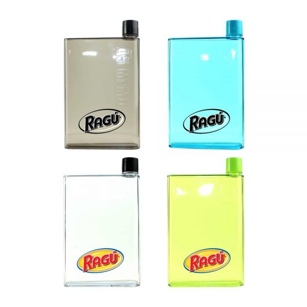 Promotional A5 Memo Water Bottles