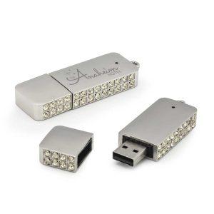 Branding USB Flash with Crystal studded