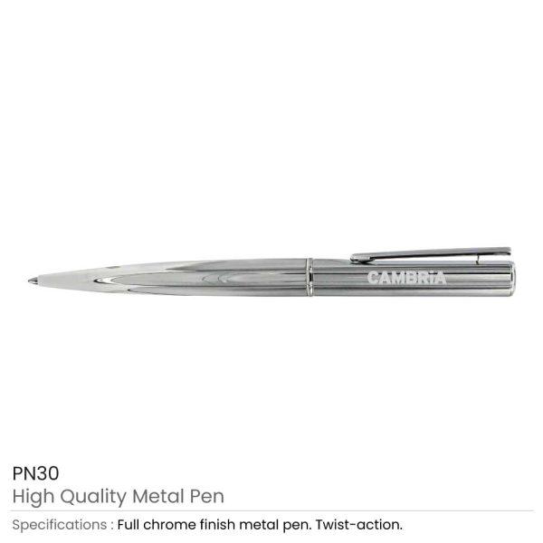 Promotional Full Chrome Metal Pens