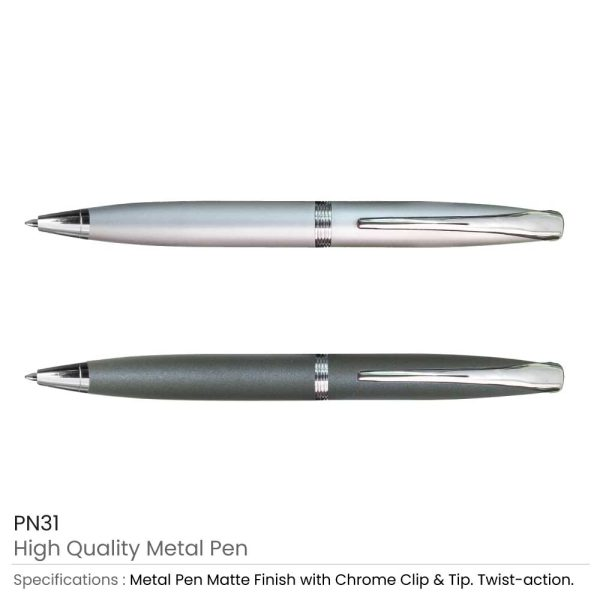 Promotional Matte Metal Pens