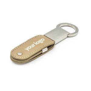 Branding Leather Keychain USB Flash Drives 24