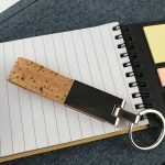 Metal-Keychain-with-Cork-Strap-KH-5-02