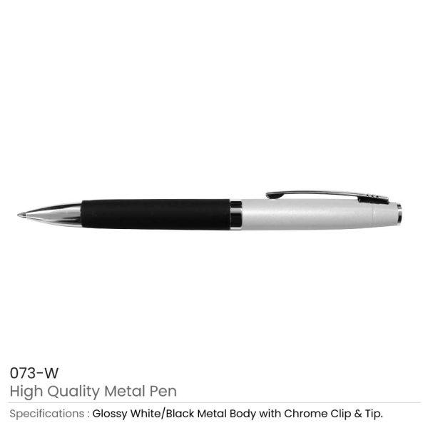 Metal Pens White