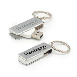 Branding Metal USB Flash Keychains