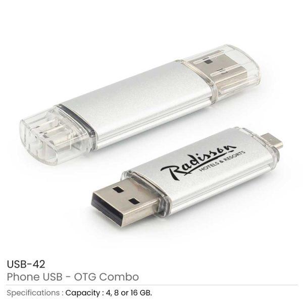 Promotional OTG Phone USB Flash