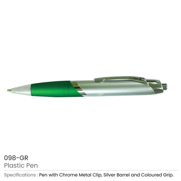 Plastic Pens - Green