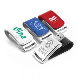 Promotional Stylish Leather USB