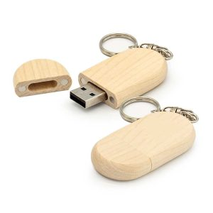 Wooden Key Holder USB Flash Drives