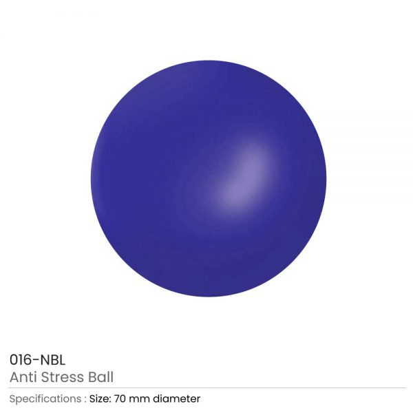 Anti-Stress Balls Navy Blue