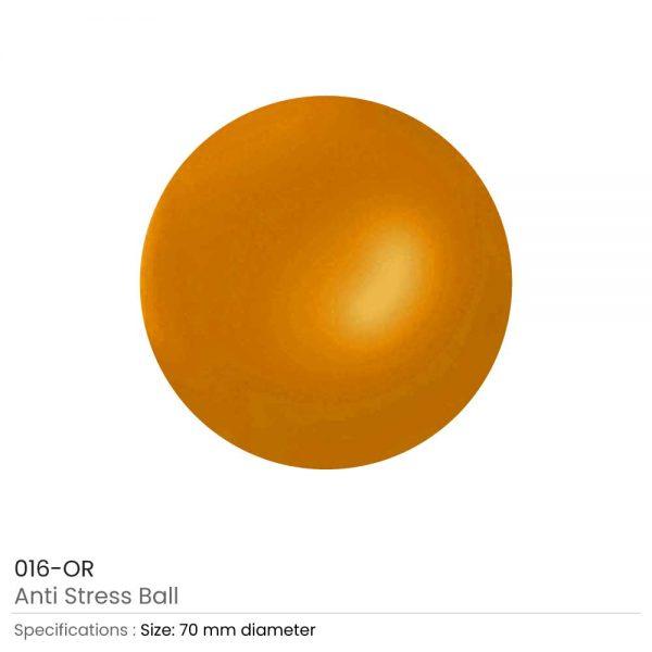 Anti-Stress Balls Orange