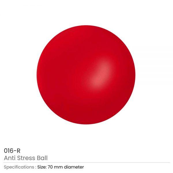 Anti-Stress Balls Red