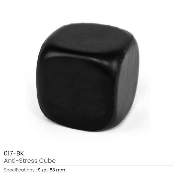 Anti Stress Cube Black