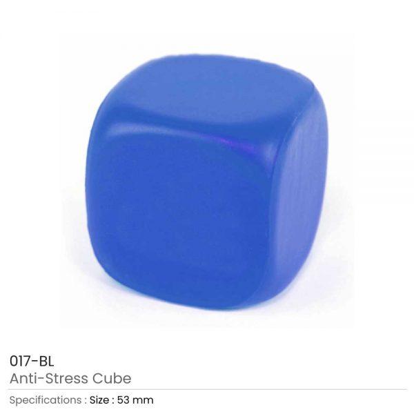 Anti Stress Cube Blue