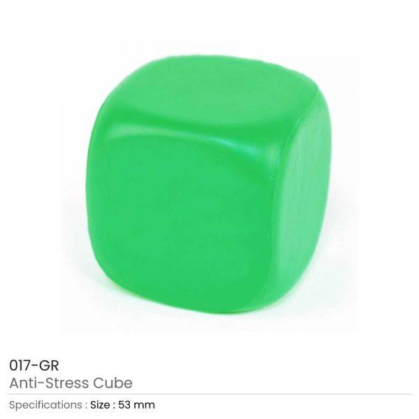 Anti Stress Cube Green
