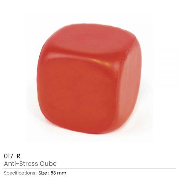 Anti Stress Cube Red