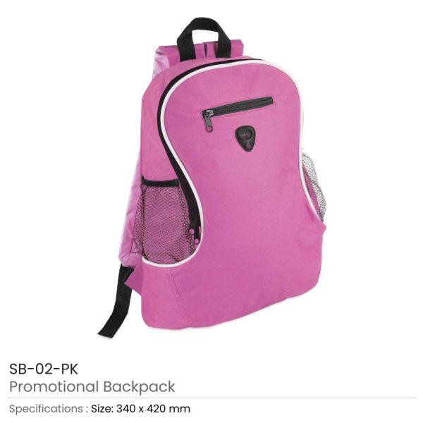 Promotional Backpacks SB-02-PK