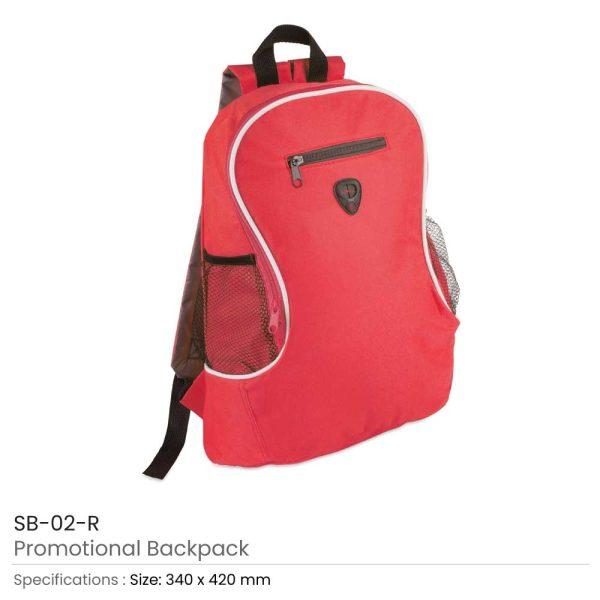 Promotional Backpacks SB-02-R