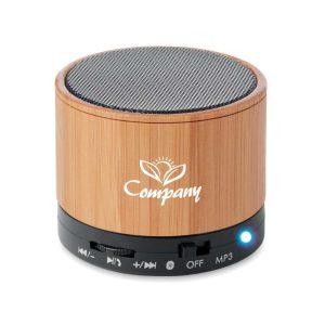 Branding Bamboo Bluetooth Speaker MS-07