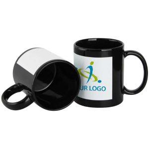 Branding Black Ceramic Mugs 172