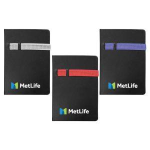 Branding Black A5 Size Notebooks