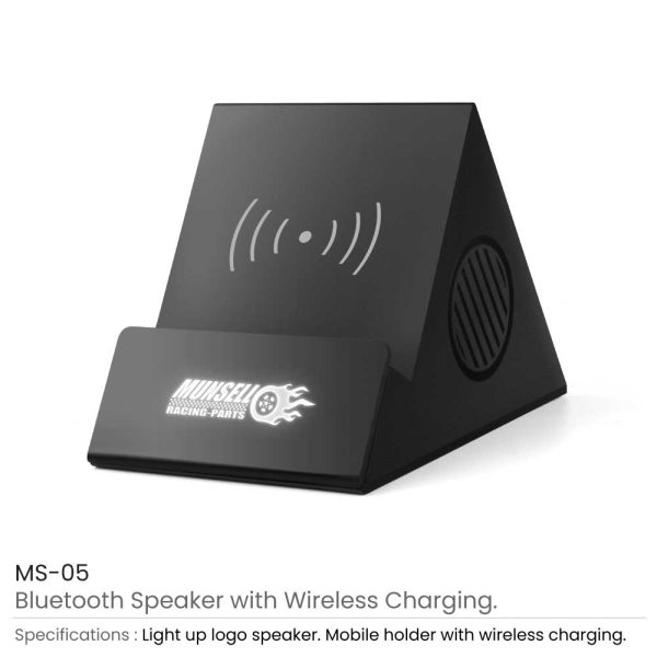 Bluetooth Speaker with Wireless Charging MS-05