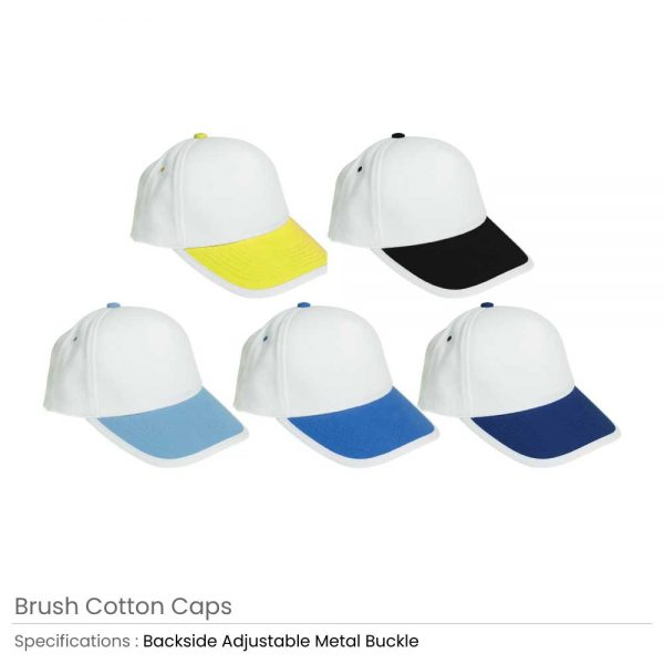 Brushed Cotton Caps