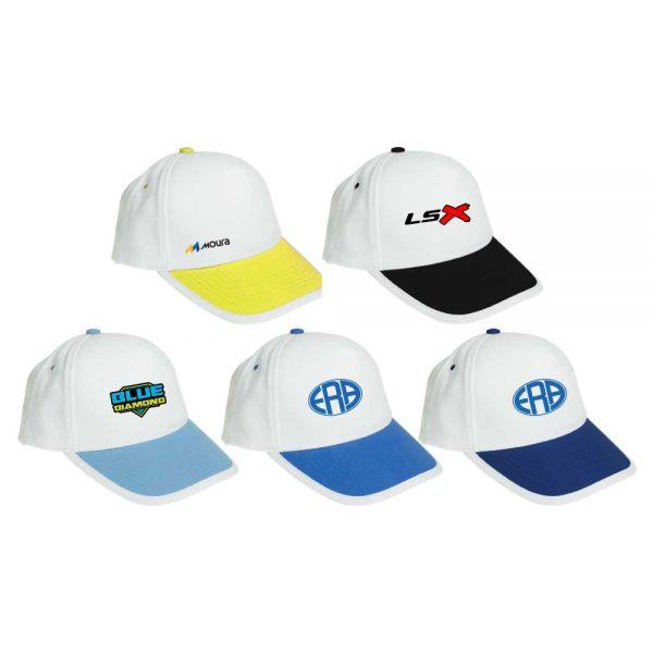 Branding Brushed Cotton Caps