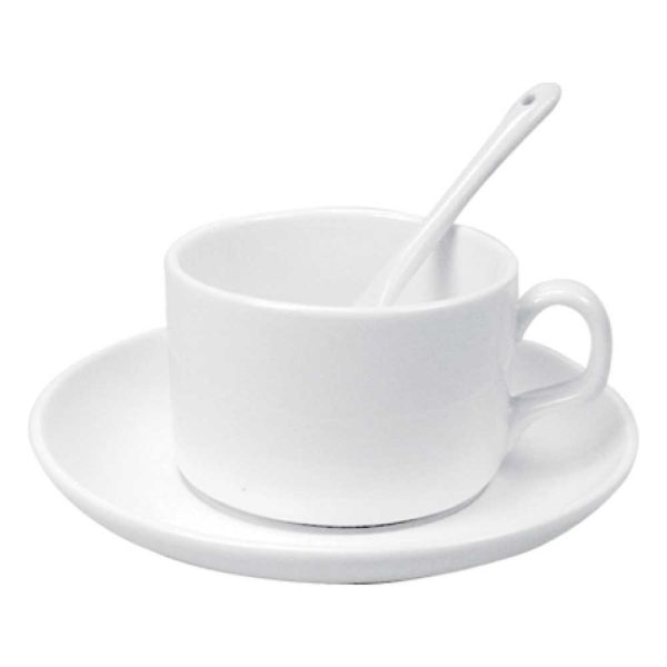 Printed Teacups with Spoon