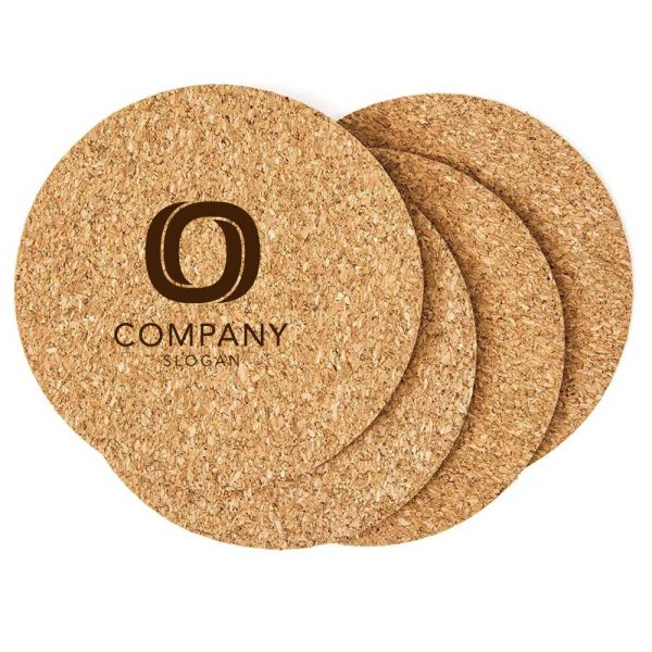 Branding Cork Tea Coasters COA-02