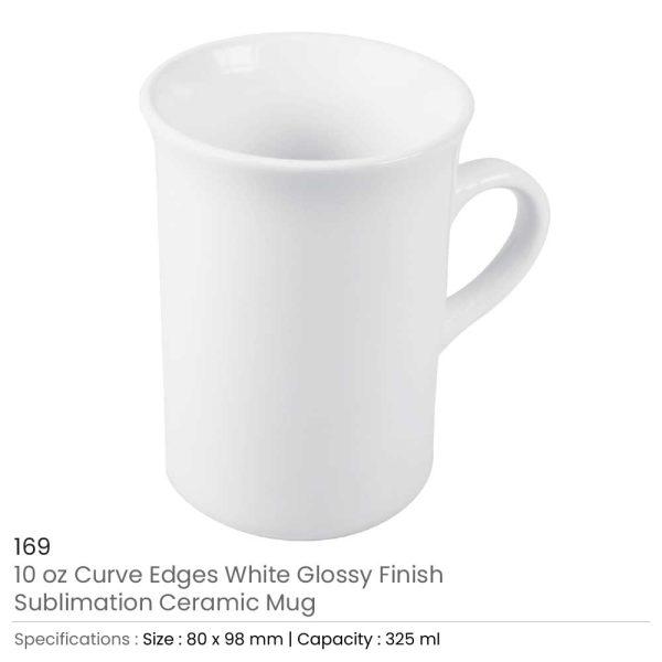 Curve Edge Mugs 10 oz 169