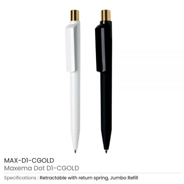 Maxema Pens Dot CGold