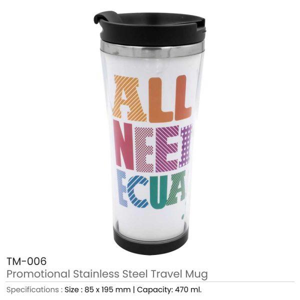 Double Wall Travel Mugs TM-006