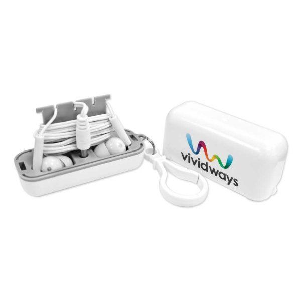 Branding Earphones with Protective Case EAR-01