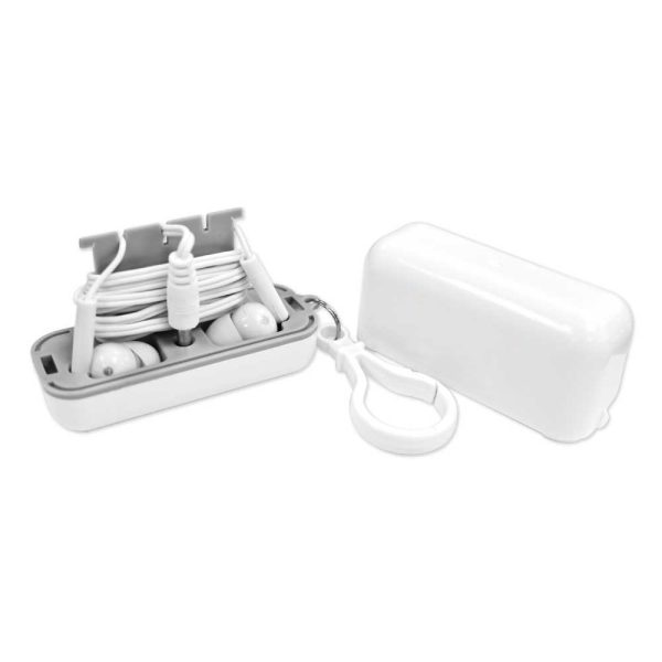Earphones with Protective Case EAR-01