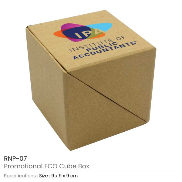 Promotional ECO Paper Cube Box