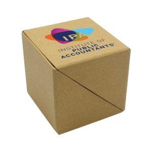 Branding ECO Paper Cube Box