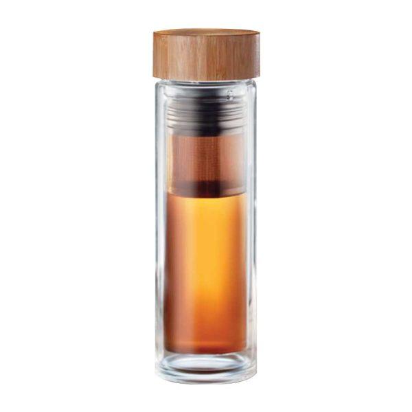 Gift supplier UAE Bamboo Flask TM-014
