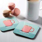 Hard Board Tea Coasters 224