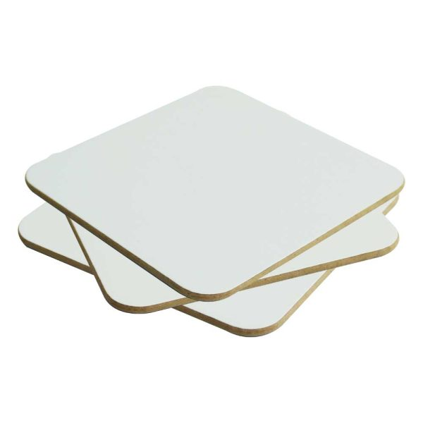 Printed Tea Coasters with Hard Board