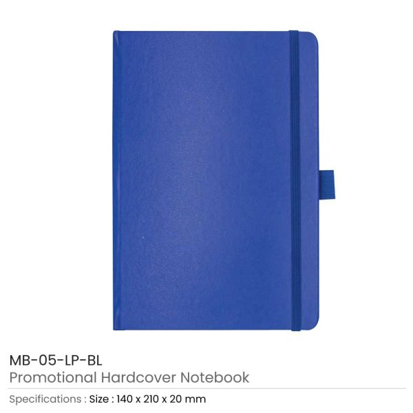 Hard Cover Notebooks Blue