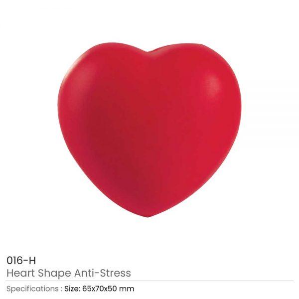 Heart Shaped Anti Stress