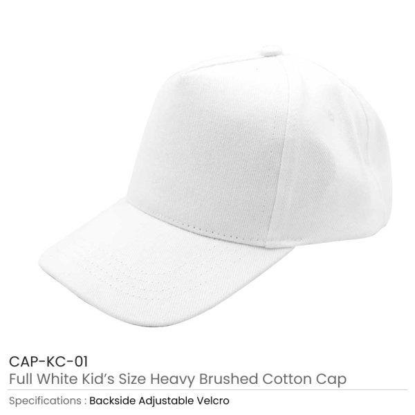 Kids Cotton Caps