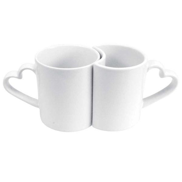 Personalized love mug set
