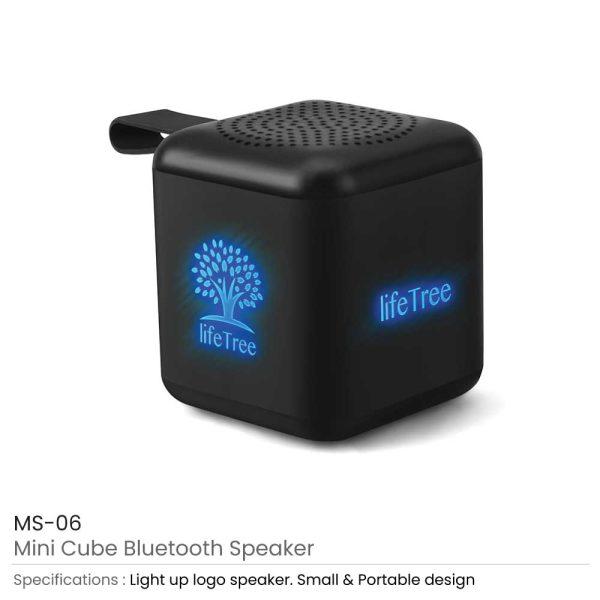 Mini Cube Bluetooth Speaker MS-06
