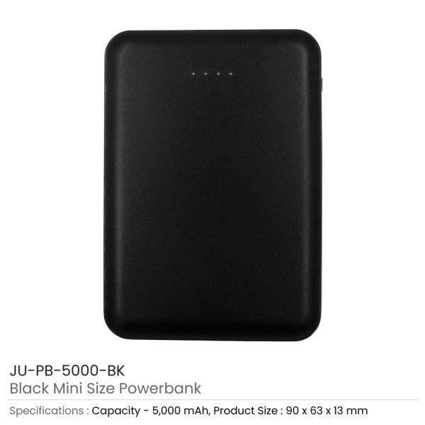 Mini Powerbank JU-PB-5000-BK