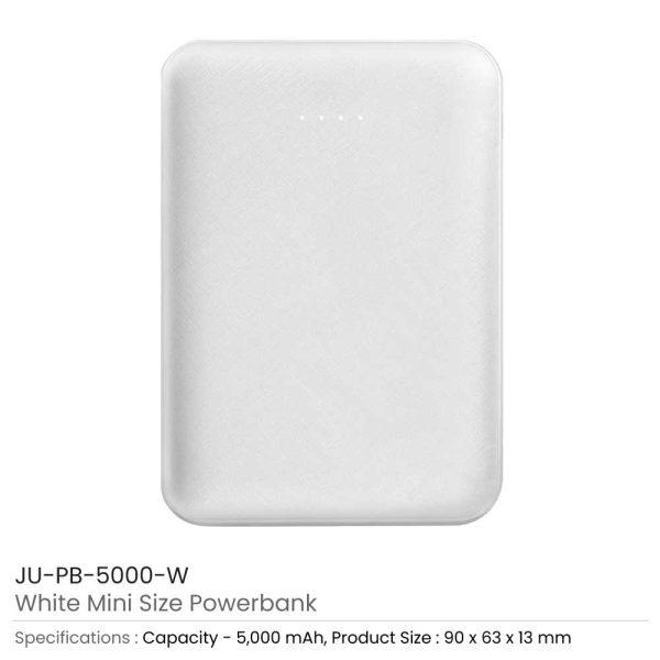 Mini Powerbank JU-PB-5000-W