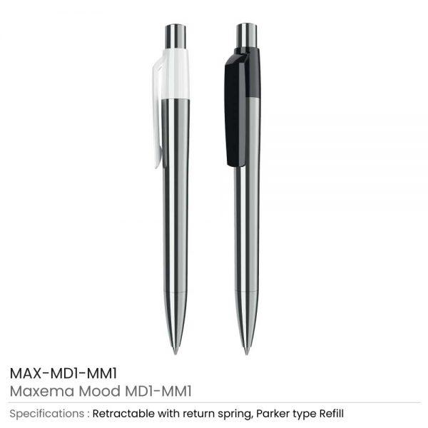 Maxema Mood Metal Pens