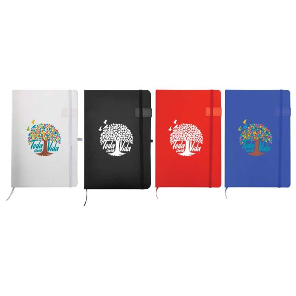 Branding Notebook with USB Flash Chip