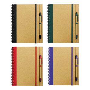 Recycled Promotional Notepads with Pen