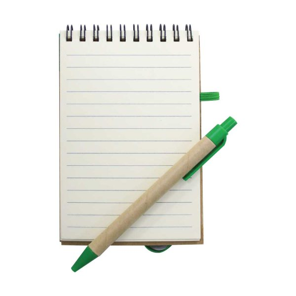 Recycled Notepads with Pen
